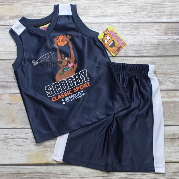 Scooby Doo Matching Sets Blue Basketball Sport Star Outfit Poshmark